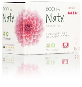 ECO tampony Naty - super plus